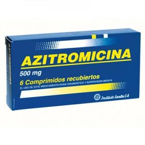 Cuidado con la azitromicina